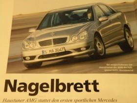 Nagelbrett - C 30 CDI AMG in der Auto Motor und Sport - Allgemeines ...